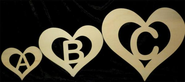 Herz Buchstaben Zum Basteln