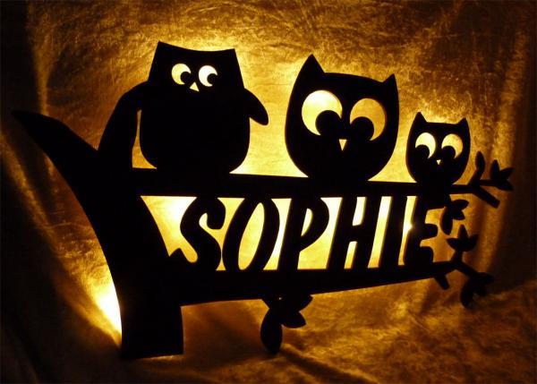 lampe mit namen selbst lampe mit namen mika with lampe. Black Bedroom Furniture Sets. Home Design Ideas