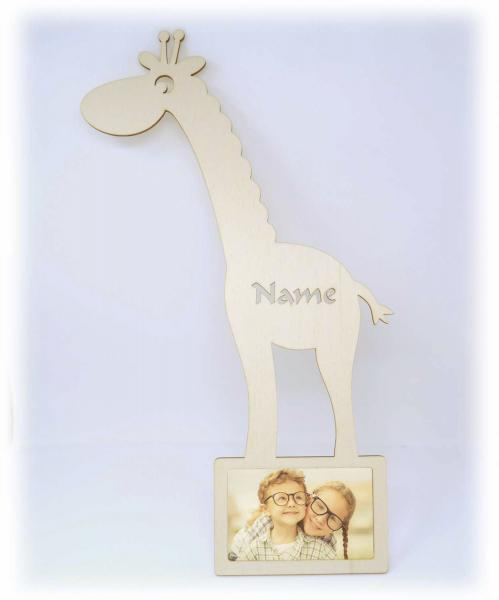 Bilderrahmen Giraffe Zoo Tiere Geschenke