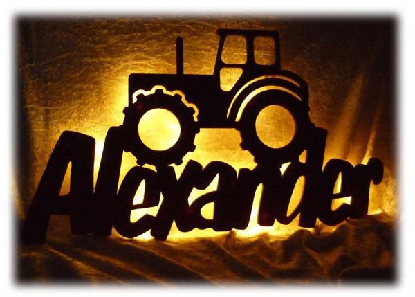 Traktor Geschenke mit Namen