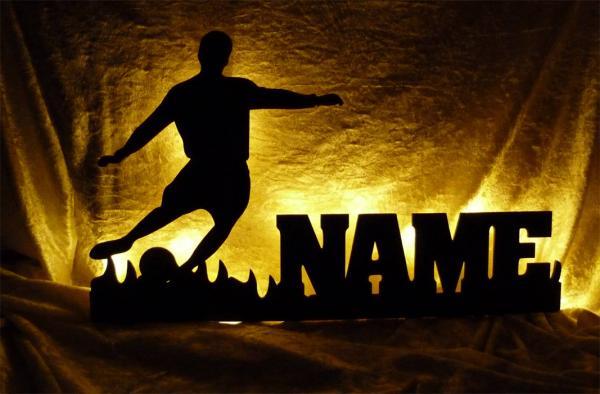Fußball Geschenke mit Namen