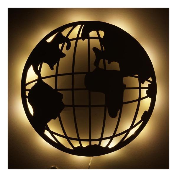 Fantastisk! Fantastisk mad Globus Geschenkartikel Geschenke LED Licht Nachtlicht Lampe IJ77