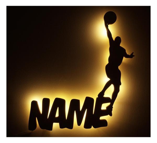 Basketball Lampen