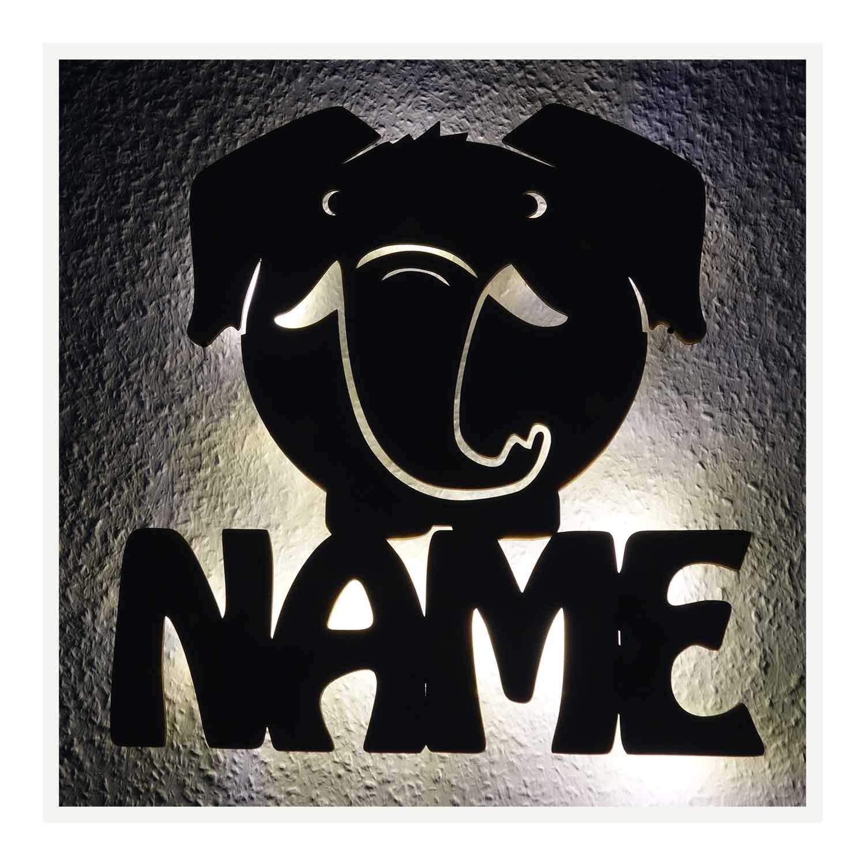 elefant figur geschenkidee deko lampe nachtlicht mit namen. Black Bedroom Furniture Sets. Home Design Ideas