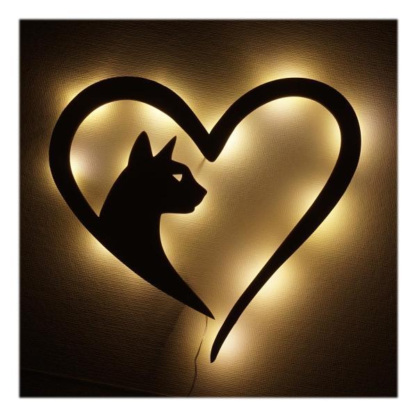 Katzenhalter Geschenkideen Lampe