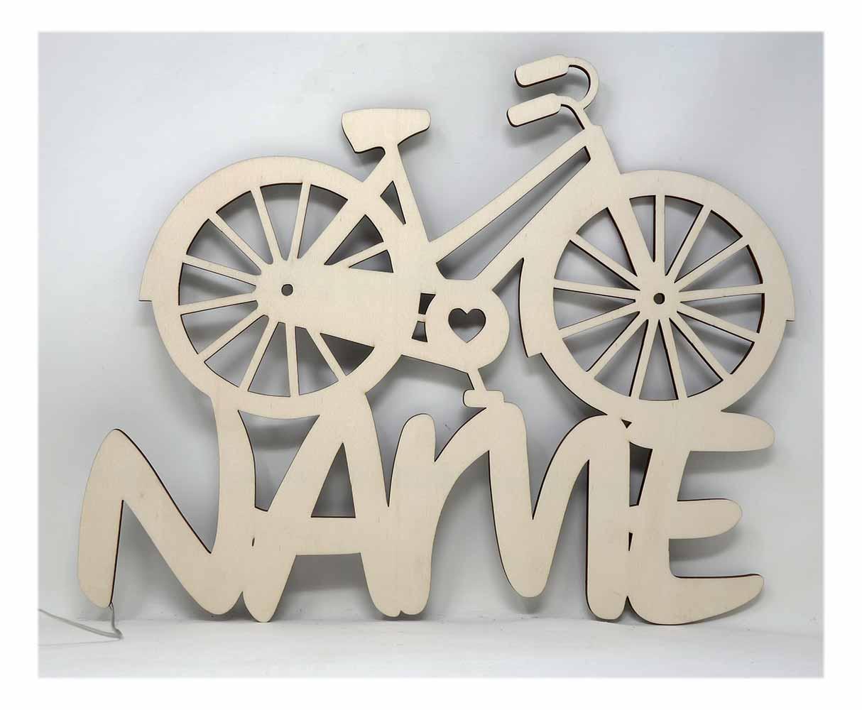 Geschenkartikel Fahrrad Fahrradfahrer Led Licht Individuell Mit