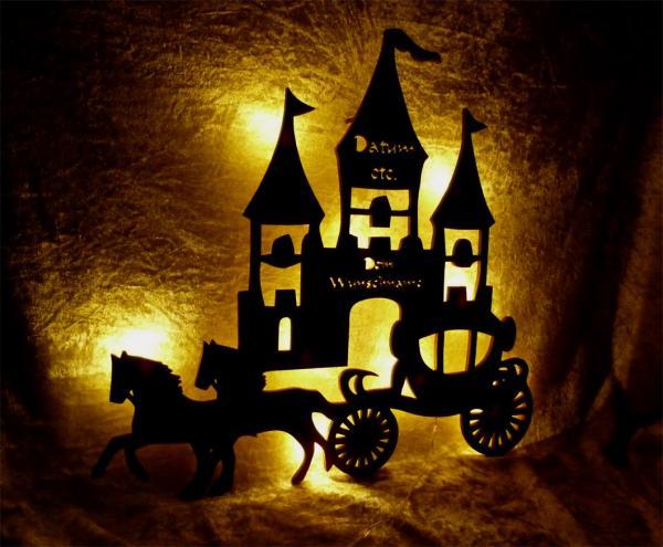 Nachtlicht Lampe Prinzessin