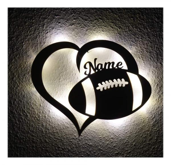 Football Lampe Nachtlicht