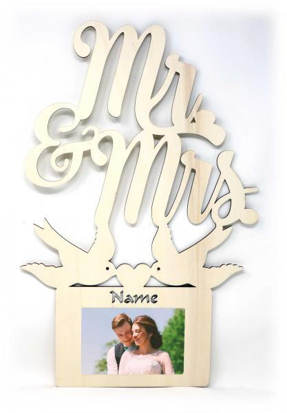 Besondere Hochzeit Bilderrahmen Individuell Mit Namen Personalisiert
