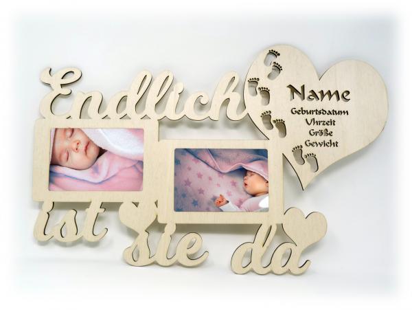 Personalisierte Geschenke Baby Geburt Mädchen