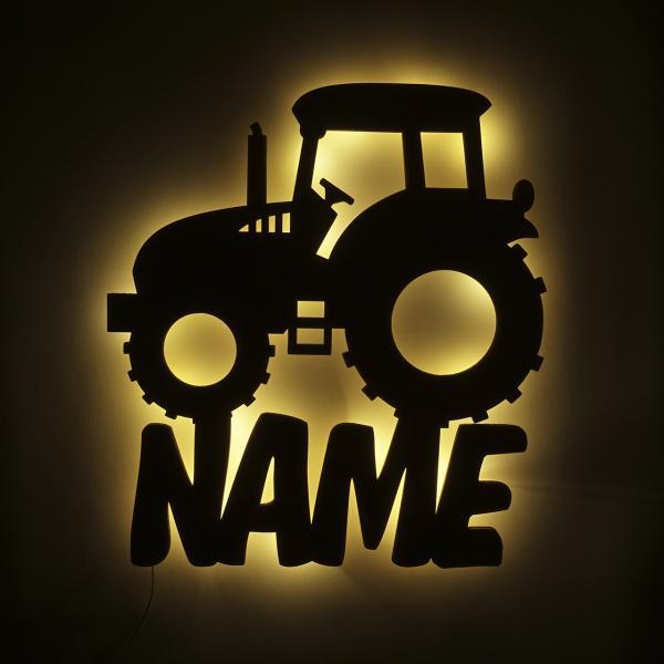 Traktor Nachtlicht